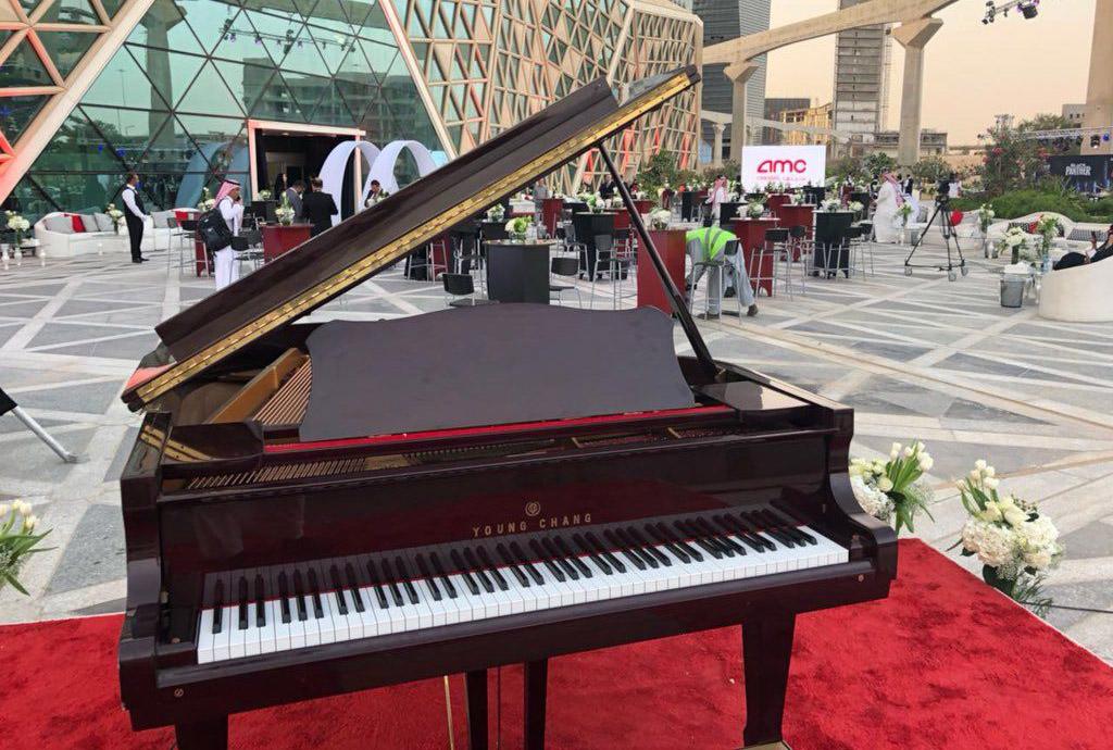 قراند بيانو (بني)